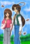 Keiichiro and Rei - Butterfly by ellana