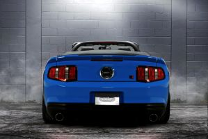 Convertible Blue Roush 427R by lovelife81