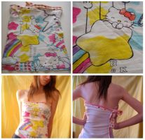 Hello Kitty Tube Top by deconstructedstars