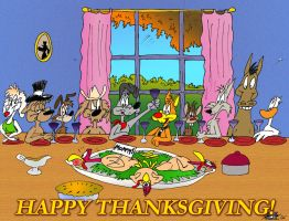 a Bill and Buster Thanksgiving by MatthewHunter