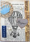 Vintage ATC - With A Book Page by SabrinaDeeBerry