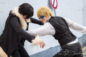 That feels reaaaally good - Shizuo by Kim-T-Mikk