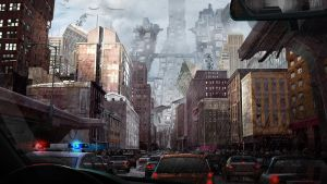 Deconstructed City by jimmyjimjim