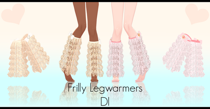 .:Frilly Legwarmers Dl:. by Crystallyna