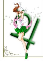 Super Sailor Jupiter by luwkwon