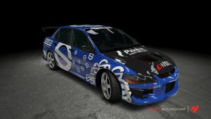 Sparco Lancer Evolution VIII MR by OutcastOne