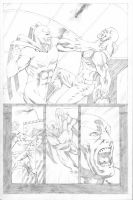 Hawk and Dove Page 07 by SeanLeeArt