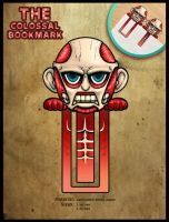 Chibi Colossal Bookmark by Ame89