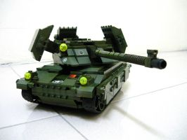 Lego Mirage Tank (RA2) 2 by SOS101