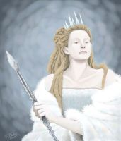 Narnia - The White Witch by uberdomkumagoro
