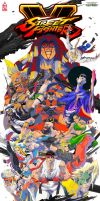 Street Fighter V Tribute by ZehB