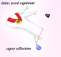 Latias used captivate by LotusFoxfire