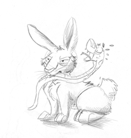 Scarlet-Pikachu: $1 Sketch commission by Windicious