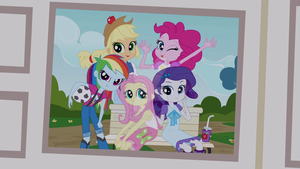 EQG - Mane 5 Filly by ABToons
