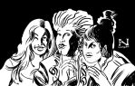 The Sanderson Sisters by IanJMiller