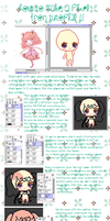 Pixel Icon - Step By Step Tutorial by Sueweetie