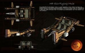 MF-813 Flying Mule ortho by unusualsuspex