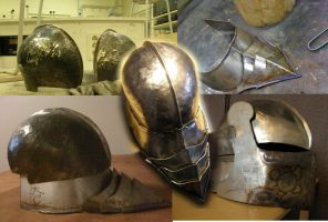 Making of Sallet by Lathron