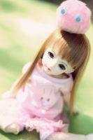 little pink bunny by Fridacoustic