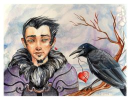 Crow for Peter by AniaMohrbacher