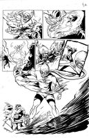 Isaac Vs. The Minions Page 2 Inks by justinprokowich