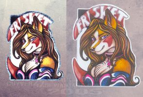 Frisket badge by guyver47