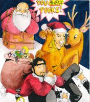 Jay and Silent Bob Xmas by yapi