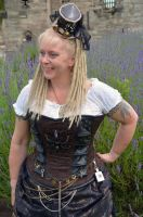 Steampunk at Tutbury Castle 2014 (8) by masimage