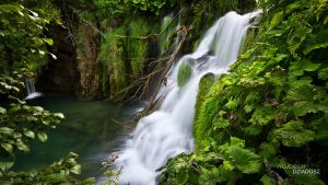 Plitvice waterfalls by WojciechDziadosz