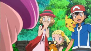 XY063 Serena and co shocked by aaron458