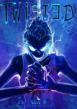 Twisted Comic Cover 3 by gabrieldevue