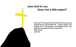 Jesus Died by jasonbot