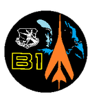 B-1  Project  logo by bagera3005
