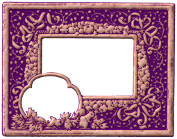Antique Ad Frame 1 by ScrapBee