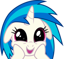 Vinyl Scratch - Wubs?! by namelesshero2222