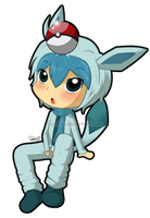 #471 glaceon by flyinfLa