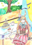 The Loli and the Tea ~ Contest Entry by Corn99