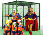 Supergirl in The Krypto-Cage Match by McGheeny