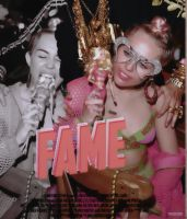 'Fame' Miley Cyrus by classxclown