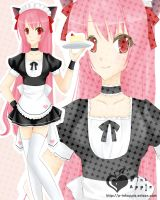 Maid PinkApple by p-inkapple