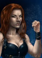 Gothic Fighter by VinRoc