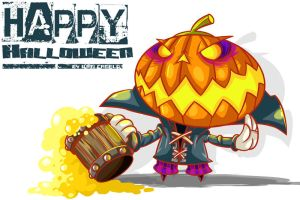 HAppy HAlloween!!! by vancamelot