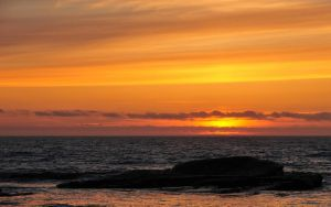 Widescreen Sunset, Boiler Bay by m-faccone