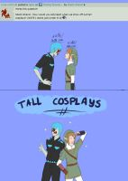 Tall Cosplays? by Silent-Shanin