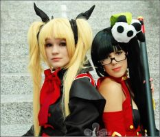 blazblue Rachel und Litchi by ArtOriginal
