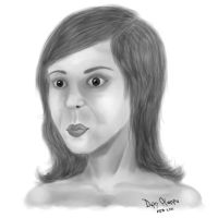 A Woman's Face by DPencilPusher