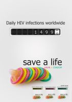 Save A Life: Wear A Condom by BLPhotography