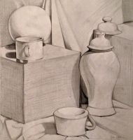 Still Life Study in Pencil by julie-allen