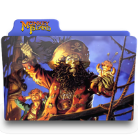 monkey island 2 folder by femfoyou