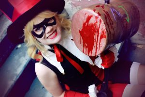 Harley Quinn: Love and Pain by Devilish0Kisa